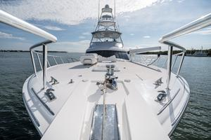 60' Hatteras 60 Gt 2008 Bow Facing Aft