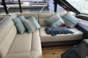 54' Riviera  2019 Helm Area Sofa