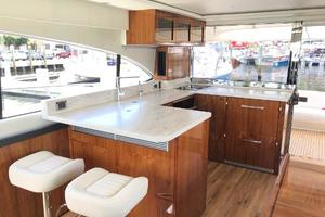 54' Riviera  2019 Galley Barstools