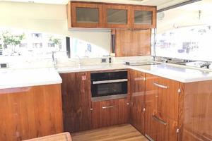 54' Riviera  2019 Galley Area