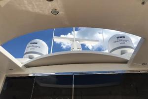 54' Riviera  2019 Cockpit Sunroof