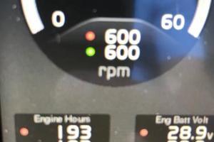 54' Riviera  2019 Engine Hours