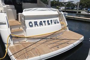 54' Riviera  2019 Hydraulic Swim Platform 1