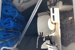 65' Pacific Mariner 65s 2000 Anchor Locker With All Chain Rode