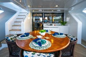 98' Mcp Europa 2008 Bridge Deck Dining