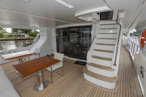 108' Benetti Tradition Supreme 108 2015 Aft Deck Stairs To Skylounge Deck