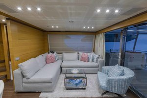 108' Benetti Tradition Supreme 108 2015 Skylounge Looking To Starboard
