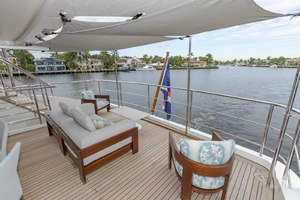 108' Benetti Tradition Supreme 108 2015 Skylounge Deck Aft