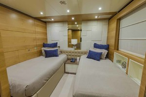 108' Benetti Tradition Supreme 108 2015 Starboard Guest Cabin Looking Aft