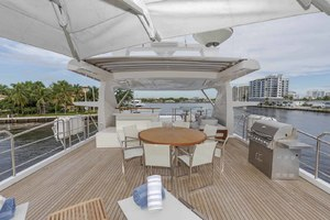 108' Benetti Tradition Supreme 108 2015 Flybridge Deck Looking Forward