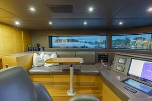 108' Benetti Tradition Supreme 108 2015  Pilothouse Looking To Port