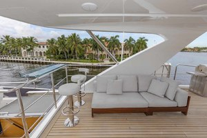 108' Benetti Tradition Supreme 108 2015 Flybridge Deck Seating And Bar