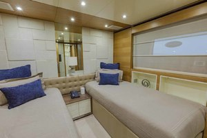 108' Benetti Tradition Supreme 108 2015 Starboard Guest Cabin Looking Forward
