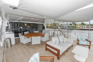 108' Benetti Tradition Supreme 108 2015 Skylounge Deck Looking Forward