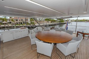 108' Benetti Tradition Supreme 108 2015 Skylounge Deck Dining