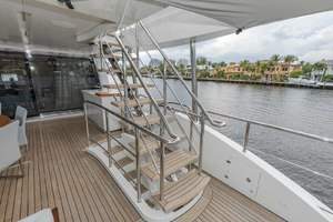 108' Benetti Tradition Supreme 108 2015 Skylounge Deck Access
