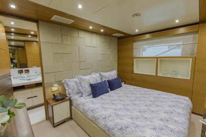 108' Benetti Tradition Supreme 108 2015 Portside VIP Looking Aft