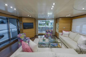 108' Benetti Tradition Supreme 108 2015 Salon Looking Aft