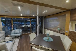 108' Benetti Tradition Supreme 108 2015 Skylounge Looking Aft