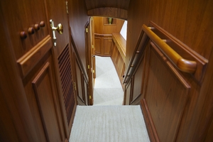 80' Merritt Custom  2006 Companionway
