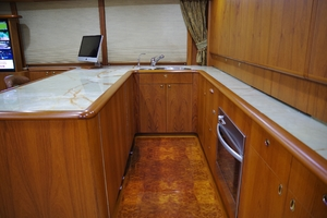 80' Merritt Custom  2006 Galley