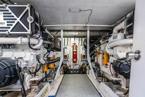 56' Neptunus  2007 Engine Room