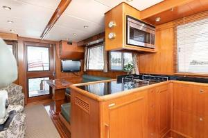 47' Grand Banks  2008 Galley