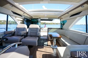 53' Regal 53 Sport Coupe 2017 Helm Looking Aft