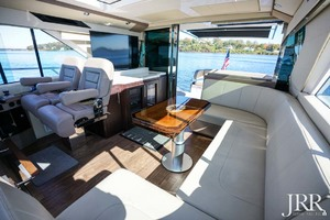 53' Regal 53 Sport Coupe 2017 Aft Salon
