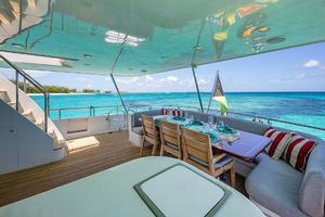 88' Cheoy Lee  2007 Aft Deck Starboard
