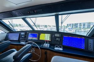 61' Viking 61 Enclosed Bridge Convertible 2005