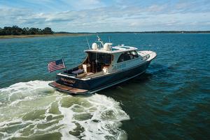 48' Hinckley Talaria 48 Motor Yacht 2013 STBDquarterprofile