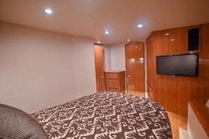 46' Viking 46 Convertible 2015 Master Stateroom  - Aft View