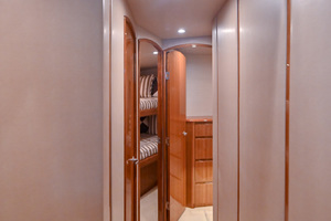 46' Viking 46 Convertible 2015 Companionway to Staterooms