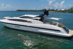 105' Mangusta  2011 Port Profile