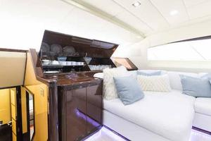 105' Mangusta  2011 Lower Salon Crystal, China And Silverware Storage
