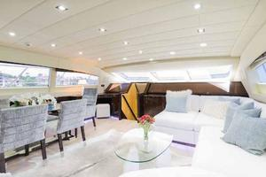 105' Mangusta  2011 Lower Salon Forward