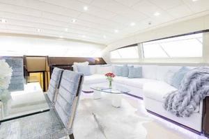 105' Mangusta  2011 Lower Salon Couch