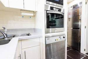 105' Mangusta  2011 Galley Oven, Dishwasher And Refrigerator