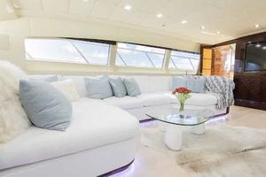 105' Mangusta  2011 Lower Salon Couch 2