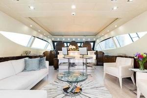 105' Mangusta  2011 Main Salon Forward