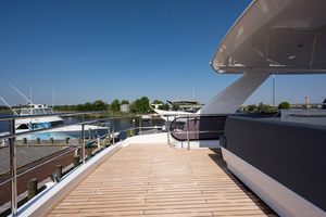 68' Princess 68 Flybridge Motor Yacht 2018 Flybridge Aft Deck