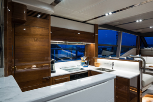 68' Princess 68 Flybridge Motor Yacht 2018 Galley