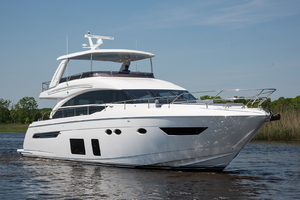 68' Princess 68 Flybridge Motor Yacht 2018 Starboard Bow