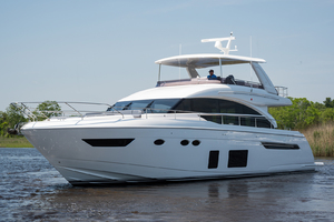 68' Princess 68 Flybridge Motor Yacht 2018 Port Bow
