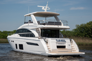 68' Princess 68 Flybridge Motor Yacht 2018 Port Side Stern