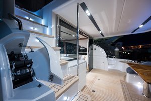 68' Princess 68 Flybridge Motor Yacht 2018 Cockpit