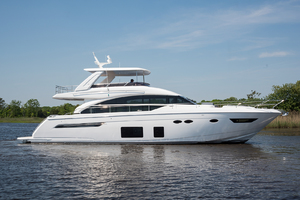 68' Princess 68 Flybridge Motor Yacht 2018 Starboard Side