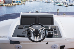 68' Princess 68 Flybridge Motor Yacht 2018 Flybridge Helm Station