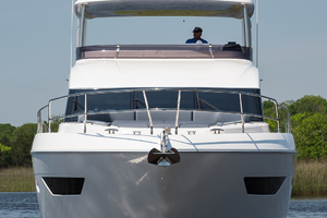 68' Princess 68 Flybridge Motor Yacht 2018 Bow